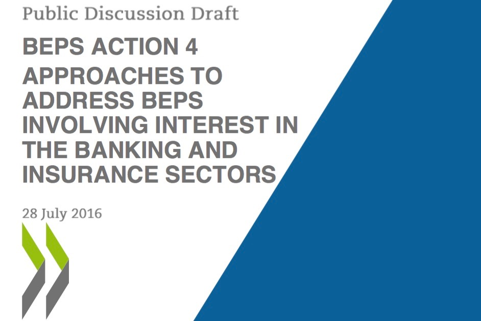 OECDs BEPS involving interest in the banking and insurance sectors2
